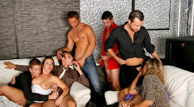 Bibi Fox in  Bimaxx The Dirty Bisexual Dozen – Part 1 September 12, 2011  Bisexual, Orgy