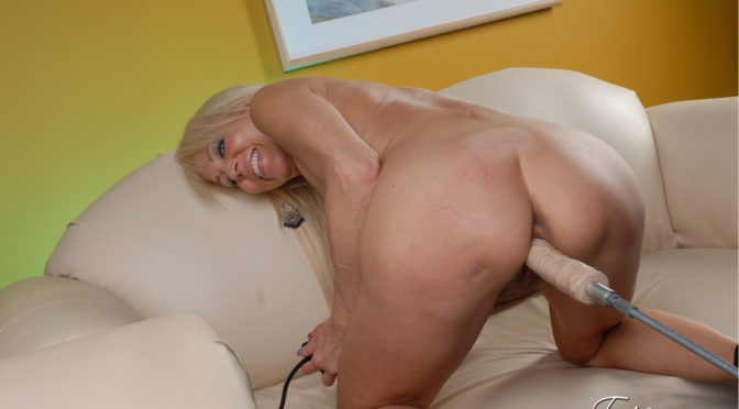 Erica Lauren in  Pornstarplatinum Fucking Machine For Me! July 31, 2012  Photos, Mature
