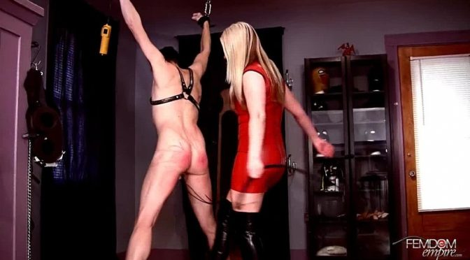 Lexi Sindel in  Femdomempire Whipping her bitch October 23, 2012  Blonde
