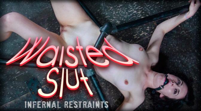 Rita Rollins in  Infernalrestraints Waisted Slut February 19, 2016  Hood, Metal Bondage