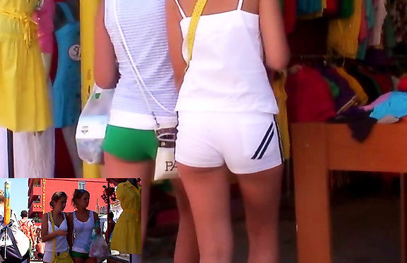Upskirtcollection Spy camera caught sexy shorts December 02, 2011  Sexy Short Shorts