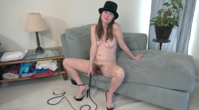 Ophelia Jones in  Wearehairy Ophelia Jones strips wearing a black hat and whip January 28, 2019  Striptease, Hairy Arms