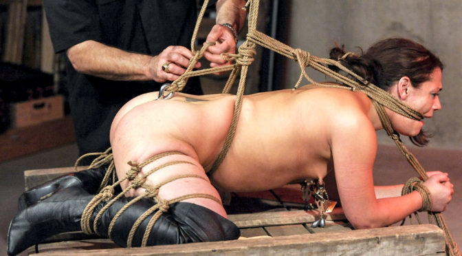 Ten Amorette in  StrugglingBabes.com For Whom the Bell Tolls February 16, 2019  Whipped, Vibrator