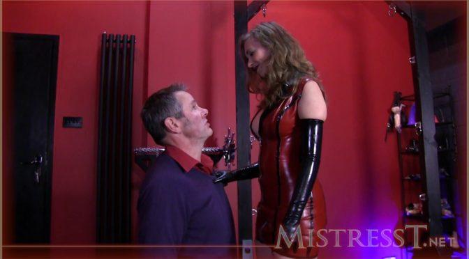 Mistresst Husband Training February 07, 2013  Glove Fetish, Cum Eating Instruciton