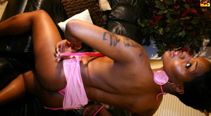 Lovlee in  Blacktgirls Lovlee Strips Down July 26, 2006  Transsexual