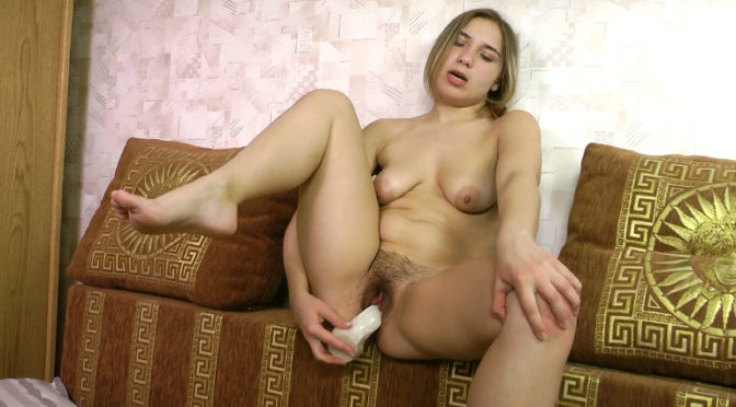 Sillicia in  Wearehairy Sillicia wakes and fingers her hairy pusssy November 04, 2012  Puffy Nipples, Masturbation