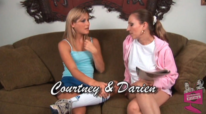 Courtney Simpson in  Girlfriendsfilms Lesbian Seductions #06, Scene #05 June 14, 2012  Kissing, Pussy Licking