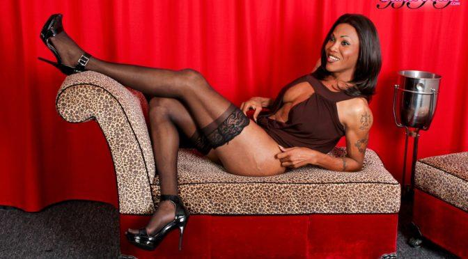 Andrea in  Blacktgirls Tattooed Tgirl Andrea April 24, 2012  Transsexual