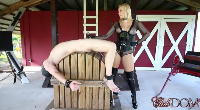 Vanessa Cage in  Clubdom Painful Milking Day for Slave 0227 January 29, 2018  Female Domination, Handjobs