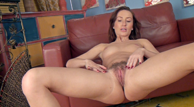Daisy in  Wearehairy Daisy shows her amazing body after slow striptease April 22, 2014  Brunettes, Slim