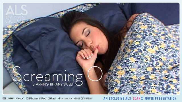 Tiffany Sweet in  Alsscan Screaming O November 08, 2013  Tasting, Bed