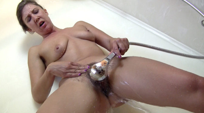 Valentine in  Wearehairy Valentine takes a shower and masturbates there too September 28, 2014  Brunettes, Hairy Ass
