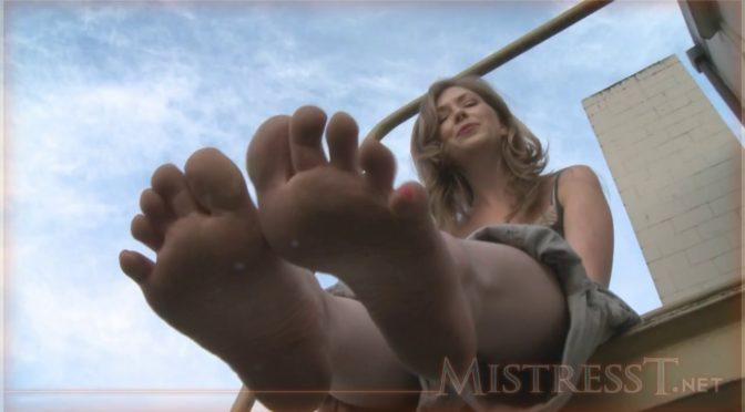 Mistresst Dirty Feet and Ballet Flats October 15, 2010  POV