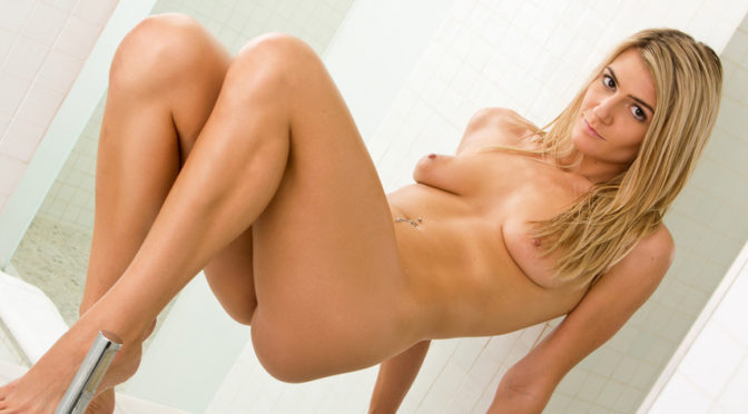 Amanda Tate in  Nubiles Relaxing After A Long Day December 28, 2013  Small Boobs, Wet