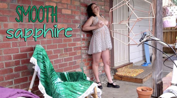 Sapphire in  Girlsoutwest Sapphire – Smooth November 11, 2016  Sex Toy, Interview