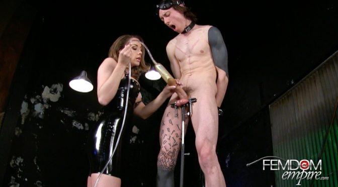 Chanel Preston in  Femdomempire Slaves Never Win July 25, 2014  Brunette, Milking