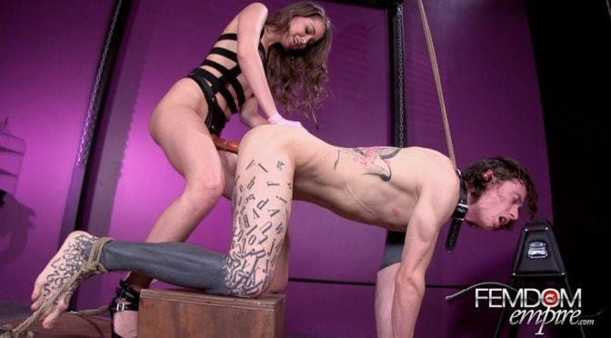 Riley Reid in  Femdomempire Careful What You Wish For February 28, 2014  Bondage