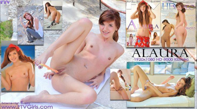 Alaura in  Ftvgirls Teenage Fantasies April 14, 2012  Real Orgasms, Dildo Play