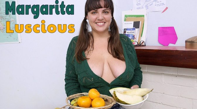 Margarita in  Girlsoutwest Margarita – Luscious September 09, 2016  Big Boobs, Tan Lines