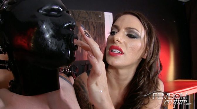 Juelz Ventura in  Femdomempire Rubber Cum Doll December 14, 2014  CBT, RubberDoll