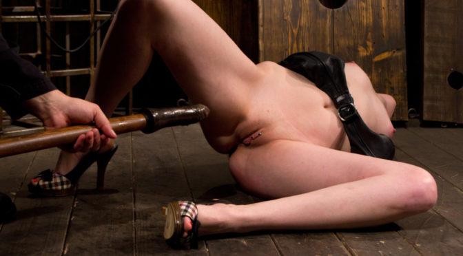 Sloane Soleil in  Devicebondage Pussy Punishment February 11, 2011  Couple, Leather