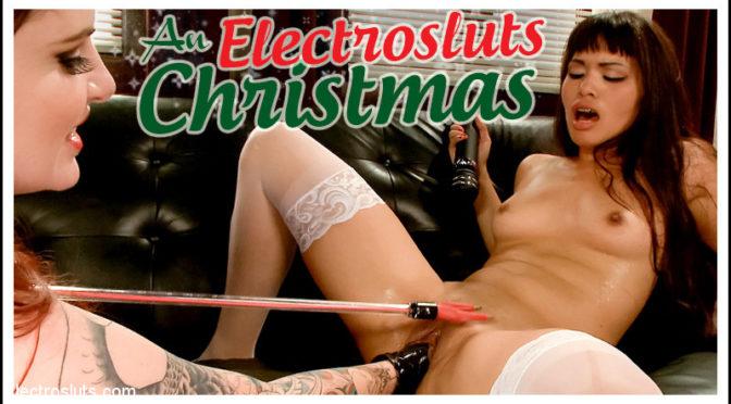 Mz Berlin in  Electrosluts An Electrosluts Christmas with Mz Berlin December 25, 2013  Slave, Humiliation
