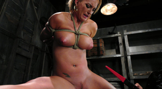 Isis Love in  Whippedass Bound Bombshell November 22, 2007  Pussy Eating, Lesbian