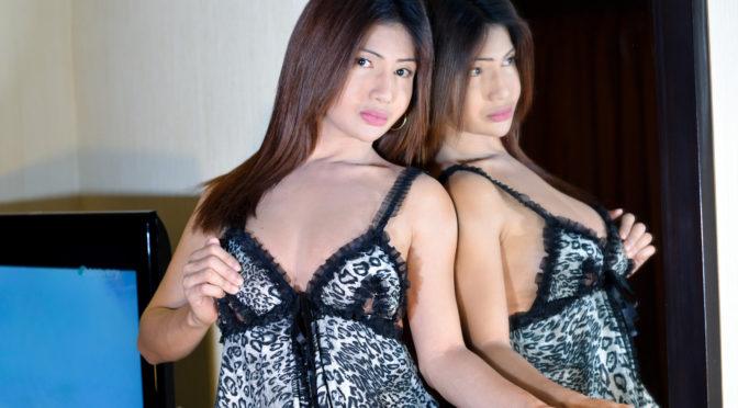 Pauline Diaz in  Ladyboyladyboy Meet Curvy Philippina Tgirl Pauline Diaz! December 15, 2016  Transsexual