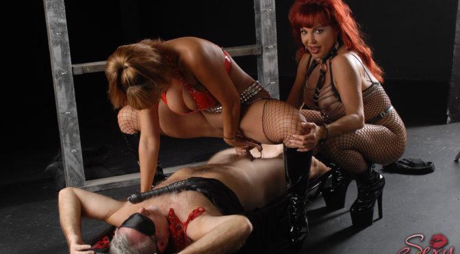 Ava Devine in  Pornstarplatinum Vanessa and Ava Devine Humiliating Jake November 21, 2012  Threesome, Big Tits