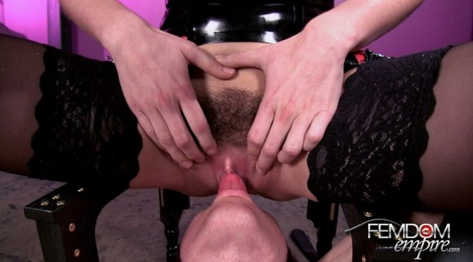 Riley Reid in  Femdomempire All My Squirt March 08, 2014  Ass Worship, Chastity