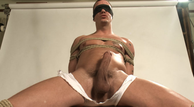 Adam Knox in  Menonedge Hot physique model is curious about edging and bondage February 19, 2013  Edging, Bondage