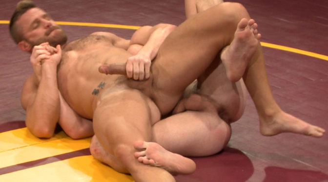 Landon Conrad in  Nakedkombat Naked Kombat's Summer Smackdown Tournament – First Semi-Final Match October 23, 2013  Submission, Tag Team