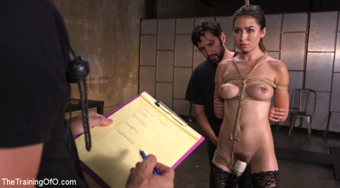 Tommy Pistol in  Thetrainingofo Training a Pain Slut: Busty Melissa Moore's First Submission August 15, 2017  Zapper, Hairy