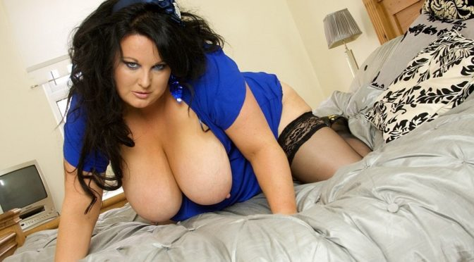 Kirstyn Halborg in  Plumperpass Blue Bred Naughty January 04, 2010  Brunette, Big Tits
