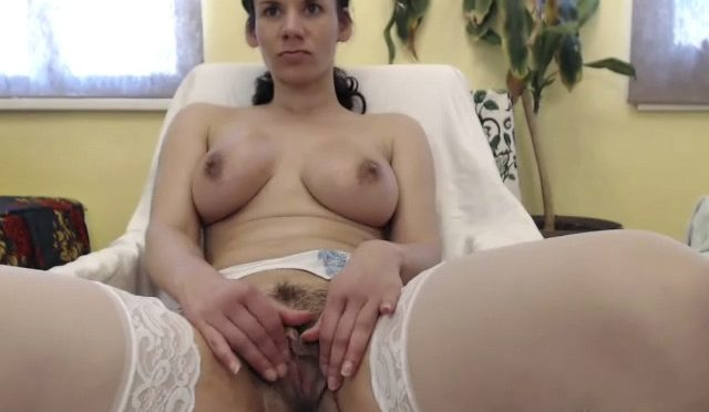 Winnie in  Wearehairy Record of Winnie's live show on 1 April 2017 May 16, 2017  Masturbation, Curvaceous