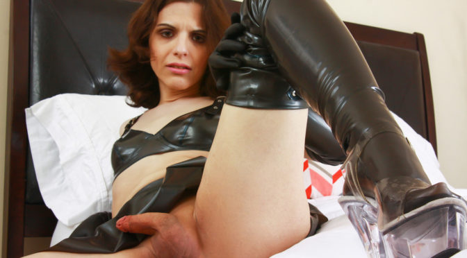 Evelyn Night in  Femoutxxx Evelyn Night in A dark Night! July 01, 2015  Transsexual