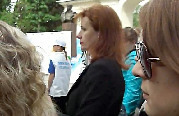 Upskirtcollection I managed see upskirt white April 08, 2012  Upskirt White