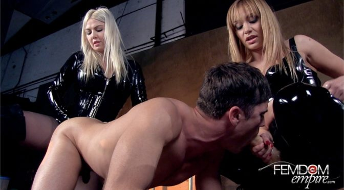 Lea Lexis in  Femdomempire Strap-on Sodomy February 09, 2013  Blonde
