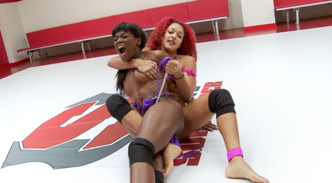 Daisy Ducati in  Ultimatesurrender Daisy Takes On the Ana Conda. Someone gets SQUEEZED April 10, 2014  Domination, Wrestling