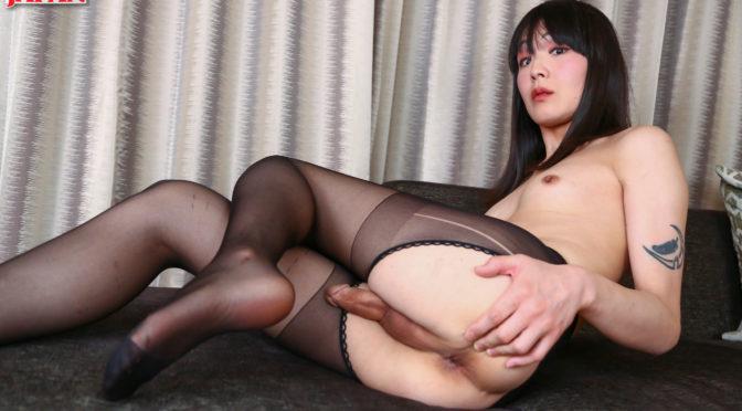 Yoko Arisu in  Tgirljapan Classy But Naughty Yoko Arisu! February 06, 2017  Transsexual