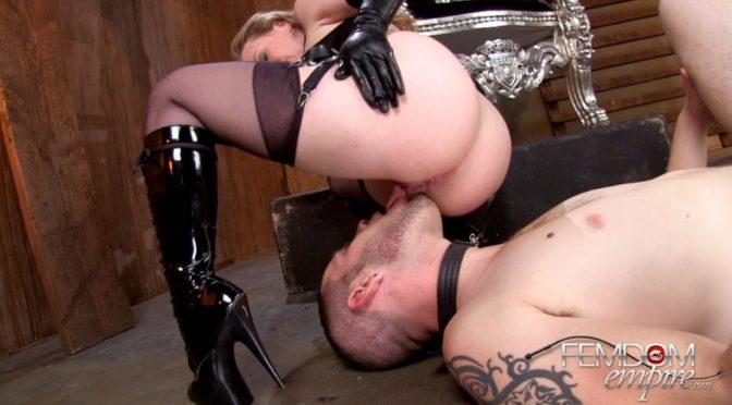 Mistress T in  Femdomempire Scent of a Mistress December 17, 2013  Ass Worship