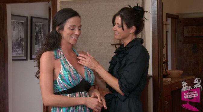 Ariella Ferrera in  Girlfriendsfilms Lesbian PsychoDramas #07 May 24, 2013  Fingering, Big Tits