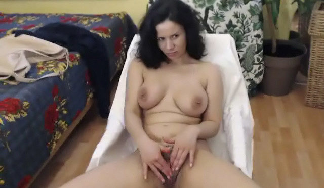 Winnie in  Wearehairy Record of Winnie's live show on 20 April 2018 June 04, 2018  Hairy Ass, Large Breasts