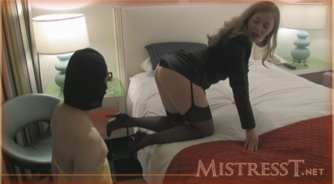Mistresst The Interview With Mini Dick March 25, 2010  SMALL PENIS HUMILIATION