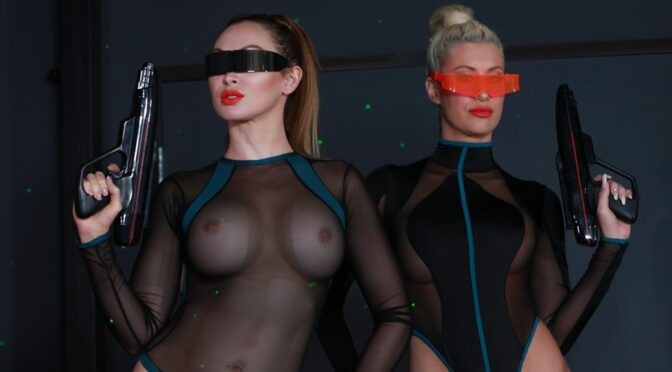 Riley Jenner in  Femdomempire Space Clits: The Ballbusting February 16, 2018  Amazon