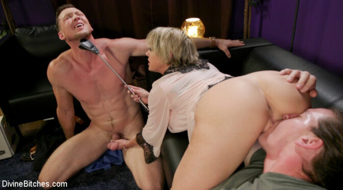 Dee Williams in  Divinebitches Couple's Cuckold Conundrum November 06, 2018  Gag, Leather