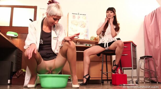 Amy Tan in  Girlsoutwest Amy & Logan – Position Vacant pt 1 March 01, 2014  Orgasm, Oral Sex