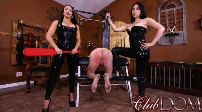 Goddess Cheyenne in  Clubdom Breaking Slave 23 April 21, 2017  Female Domination, Caning