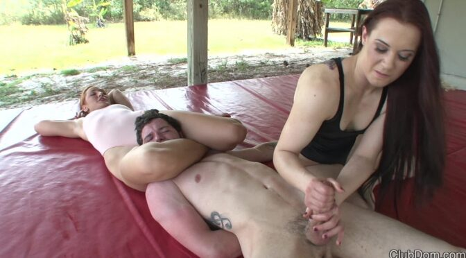 Cheyenne Jewel in  Clubdom Beat up by 2 Goddesses Part 2 May 28, 2014  Mixed Wrestling