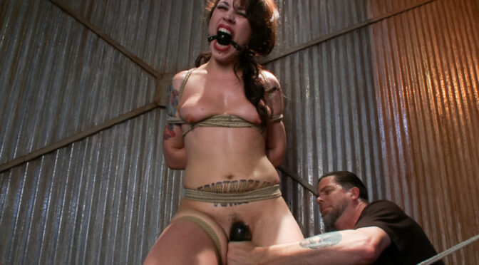 Elizabeth Thorn in  Sadisticrope This is Suffering – Edited Live Show September 25, 2013  Pain, Pain Slut